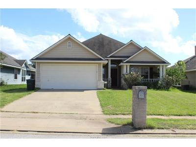 Bryan TX Single Family Home For Sale: $208,900