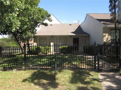 College Station TX Condo/Townhouse For Sale: $159,900