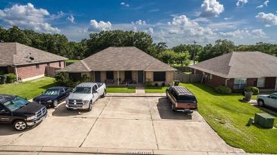 Brazos County Multi Family Home For Sale: 1745 Rock Hollow