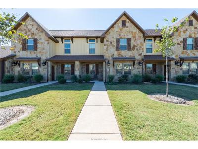 Bryan  , College Station Condo/Townhouse For Sale: 3318 Airborne Avenue