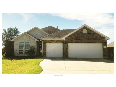 Navasota Single Family Home For Sale: 301 Pebble Loop Drive