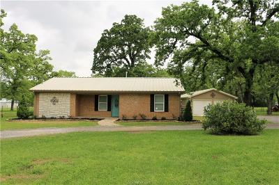 Madisonville Single Family Home For Sale: 3215 Fm 1452