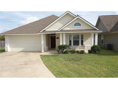 College Station Single Family Home For Sale: 1027 Fallbrook Loop