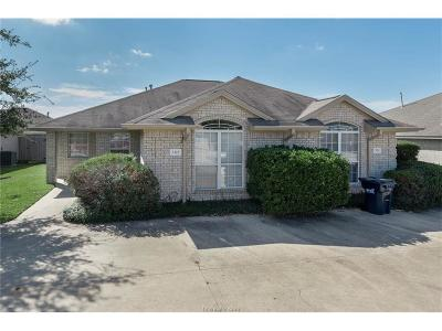 Bryan , College Station Multi Family Home For Sale: 2324-2326 Antelope Lane