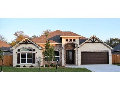Bryan Single Family Home For Sale: 3012 Embers Loop
