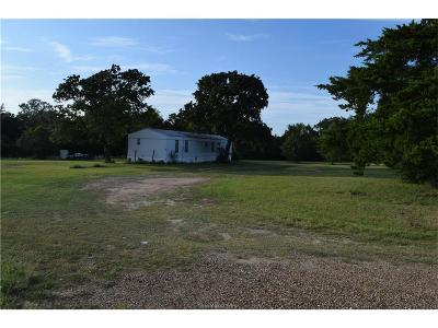 Bryan , College Station Single Family Home For Sale: 6200 Stousland Road