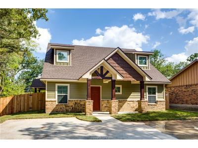 College Station Single Family Home For Sale: 118 Mile Drive