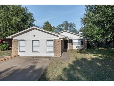 College Station Single Family Home For Sale: 3107 Bluestem Drive