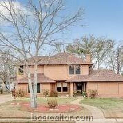 College Station Single Family Home For Sale: 1205 Deacon Drive