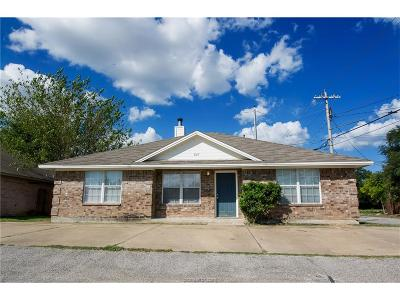 Bryan , College Station  Single Family Home For Sale: 827 Avenue A