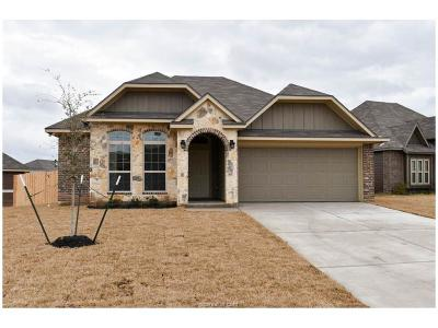 Bryan Single Family Home For Sale: 2066 Positano Loop