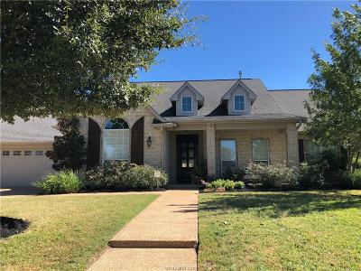 College Station Single Family Home For Sale: 2128 Rockcliffe