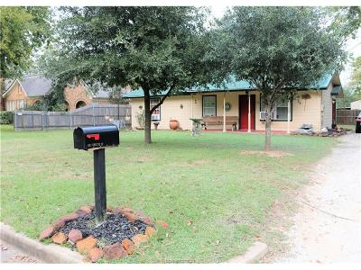 Madisonville Single Family Home For Sale: 108 North Texas Street