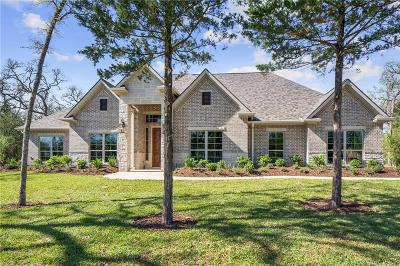College Station Single Family Home For Sale: 11724 Spanish Oak Court