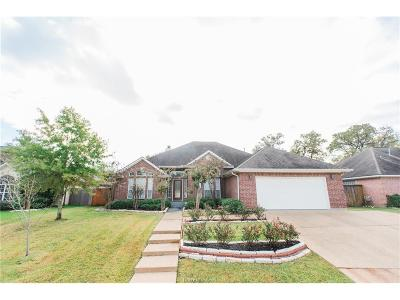 College Station Single Family Home For Sale: 314 Woodland Springs Drive