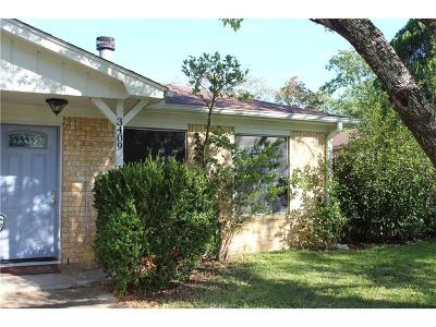 College Station Rental For Rent: 3409 Wildrye Drive