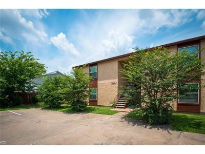 College Station Rental For Rent: 1537 Pine Ridge Drive #D
