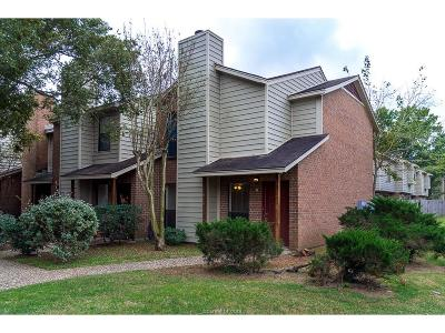 College Station Condo/Townhouse For Sale: 1904 Dartmouth Street #I6