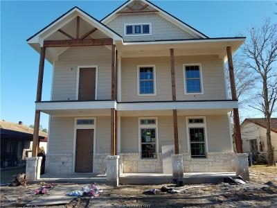 Bryan , College Station Single Family Home For Sale: 120 Richards Street #B