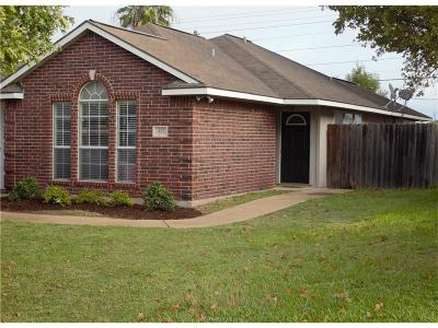 Bryan Single Family Home For Sale: 425 Silkwood Drive