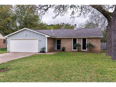 Bryan Single Family Home For Sale: 2715 Silver Maple Drive