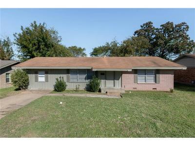 Bryan Single Family Home For Sale: 1714 Dillon Avenue