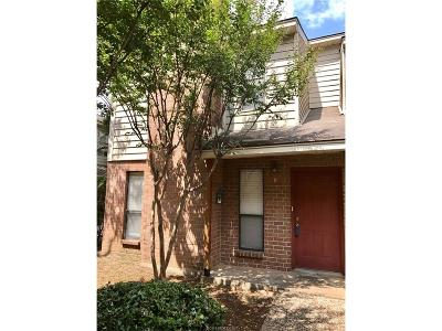 College Station Condo/Townhouse For Sale: 1904 Dartmouth #M-1