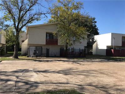 Brazos County Multi Family Home For Sale: 1802 Potomac Place #A-D