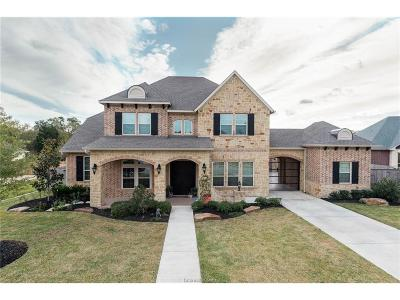 College Station Single Family Home For Sale: 5404 Crosswater Drive