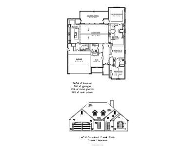 College Station Single Family Home For Sale: 4031 Crooked Creek Path