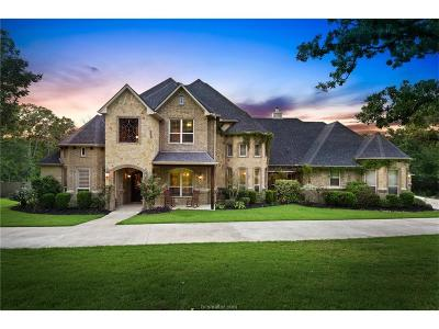 College Station TX Single Family Home For Sale: $1,175,000