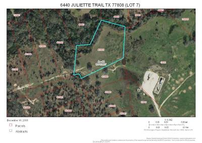 bryan Residential Lots & Land For Sale: 6440 Juliette Trail