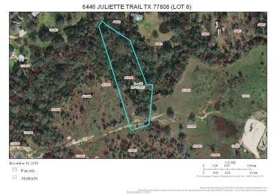 bryan Residential Lots & Land For Sale: 6446 Juliette Trail