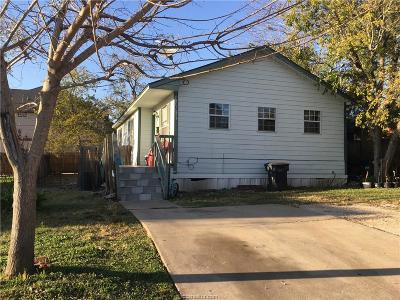 Bryan , College Station  Single Family Home For Sale: 413 Thompson Street #A