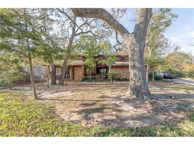 College Station Single Family Home For Sale: 1201 Guadalupe Drive