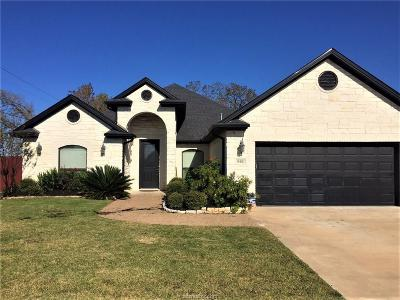 College Station Single Family Home For Sale: 8401 Justin Ave