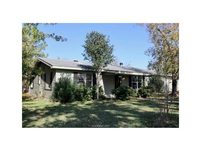Grimes County Single Family Home For Sale: 6445 Carrell Street
