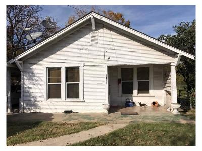 Bryan Single Family Home For Sale: 1606 Una Avenue