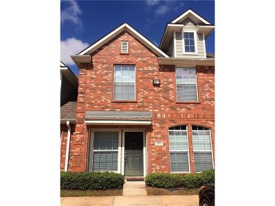 College Station Condo/Townhouse For Sale: 1001 Krenek Tap Road #2802