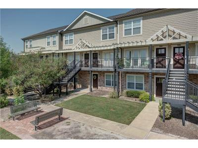 College Station Condo/Townhouse For Sale: 1725 Harvey Mitchell #2124