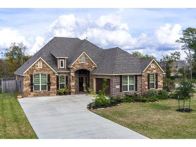 Bryan Single Family Home For Sale: 3400 Lockett Hall Circle