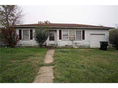 Bryan Single Family Home For Sale: 709 Live Oak Street #COB