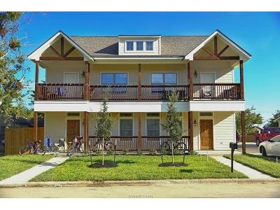 Bryan , College Station Multi Family Home For Sale: 304 Cooner Street #A&B