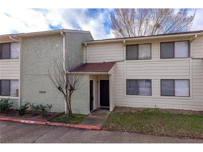 Bryan Condo/Townhouse For Sale: 4509 Carter Creek #6