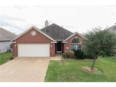 College Station TX Single Family Home For Sale: $212,400