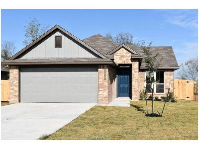 Bryan Single Family Home For Sale: 2552 Elkhorn Trail