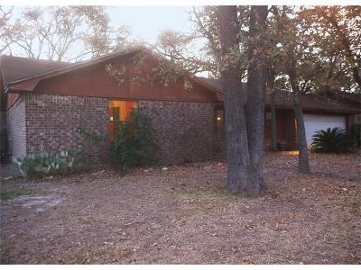 Bryan TX Single Family Home For Sale: $124,000