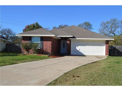 Bryan Single Family Home For Sale: 2396 Waterwood Lane
