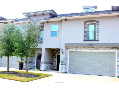 College Station Condo/Townhouse For Sale: 3532 Summerway Drive