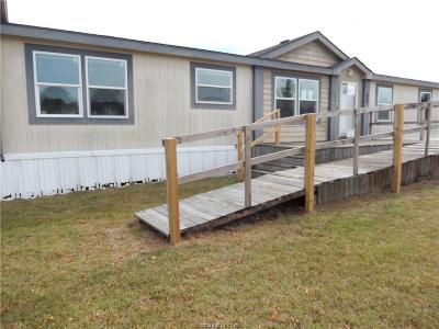 Bryan TX Single Family Home For Sale: $154,000